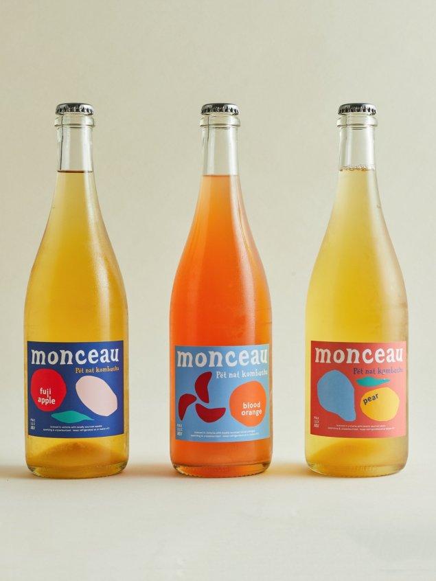 Monceau & Co Pear Pet Nat Kombucha